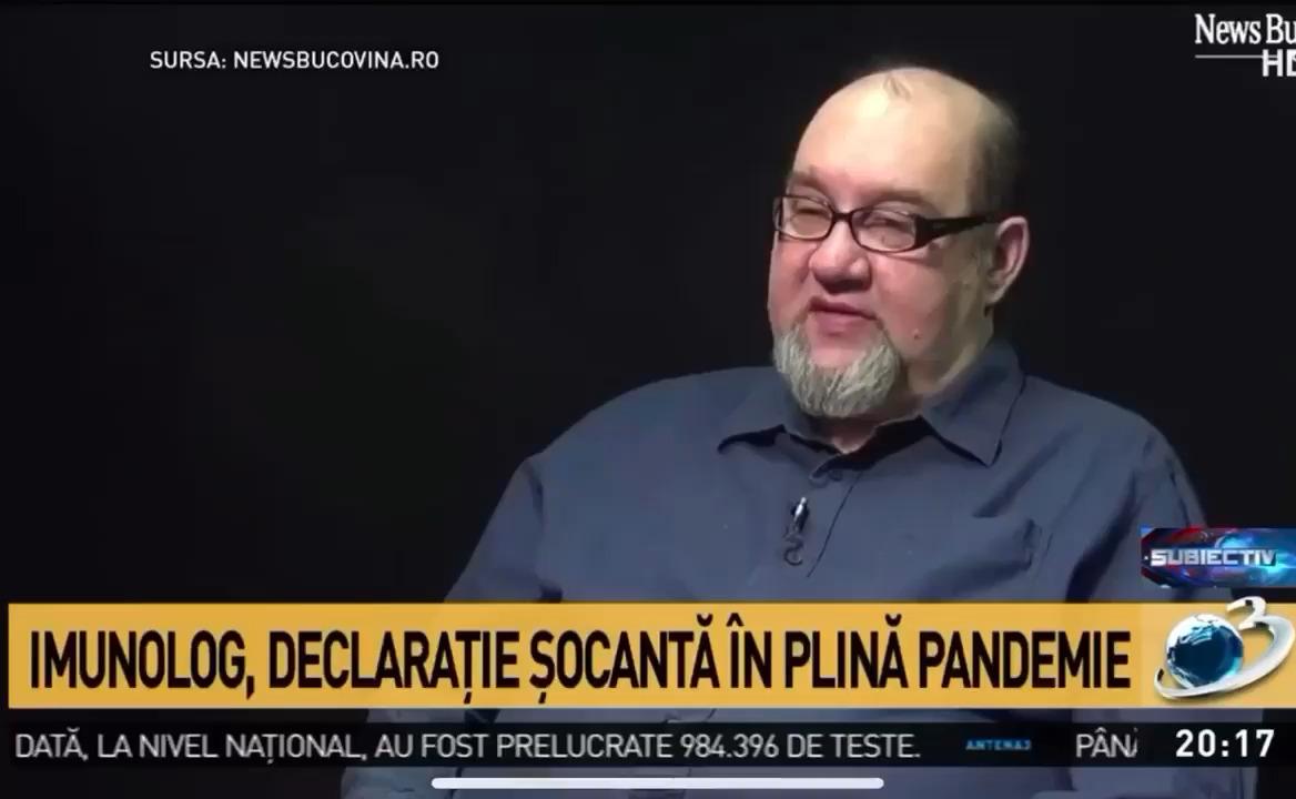 Activistul Aurelian Popa demască minciuna RT-PCR Covid-19: Un test pozitiv nu înseamna că ai virus viu (Video)